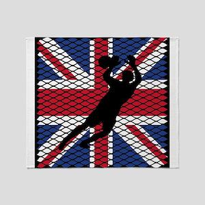 British Flag Goal Keeper Futbol Soccer Goalie Art