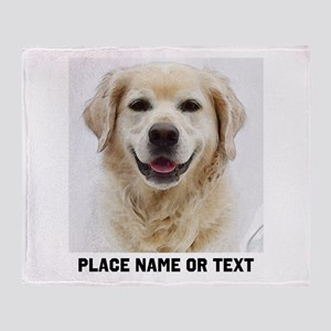 Dog Photo Customized Throw Blanket