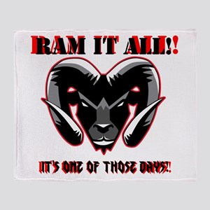 RAM_IT Throw Blanket