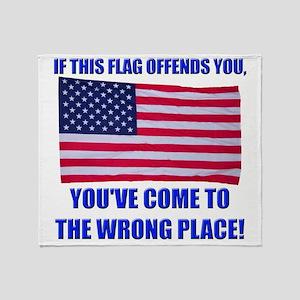 Flag1a Throw Blanket