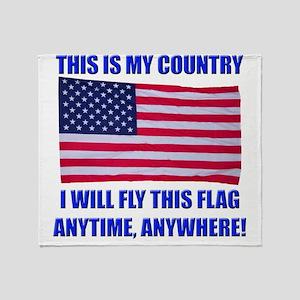 Flag2a Throw Blanket