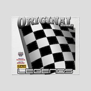 Original Automobile Legends Series Throw Blanket