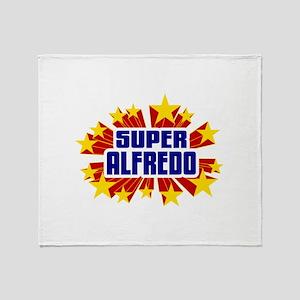 Alfredo the Super Hero Throw Blanket