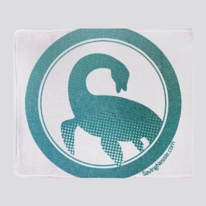 Nessie - Loch Ness Monster Throw Blanket