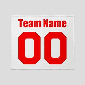 Team Throw Blanket