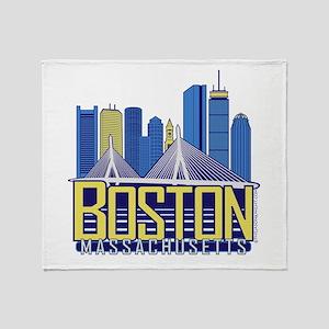 Boston Throw Blanket