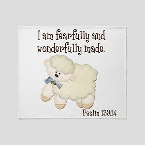 Wonderfullymade_Sheep Throw Blanket