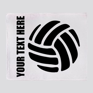 Volleyball Throw Blanket