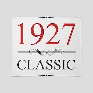 Classic 1927 Throw Blanket