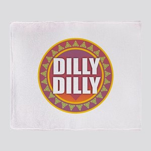 Dilly Dilly Throw Blanket