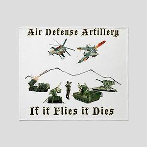 Air Defense Artillery If It Flies It Throw Blanket