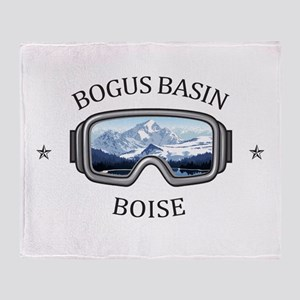 Bogus Basin - Boise - Idaho Throw Blanket