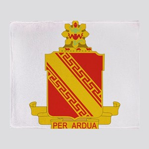 44th Air Defense Artillery Regiment. Throw Blanket