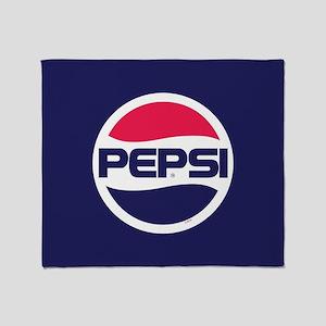 Pepsi 90s Logo Throw Blanket