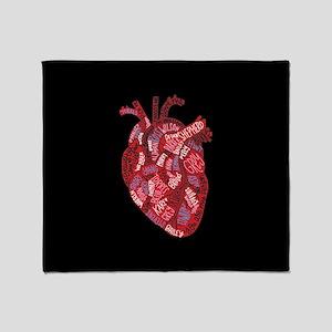 Grey's Anatomy Heart Throw Blanket