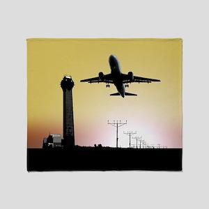 ATC: Air Traffic Control Tower & Plane Throw Blank