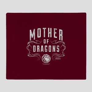 GOT: Mother of Dragons Throw Blanket