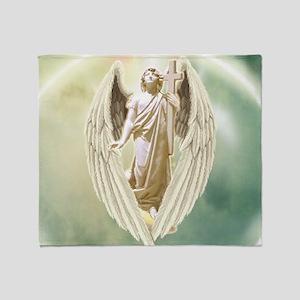 Angel Gabriel Throw Blanket