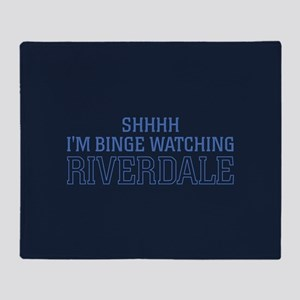 Professional Riverdale Watcher Throw Blanket