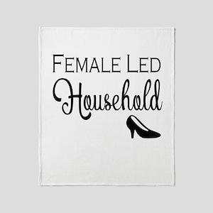 Female Led Household Throw Blanket