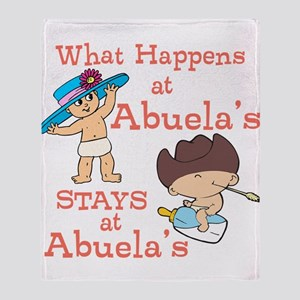 What Happens at Abuela's Throw Blanket