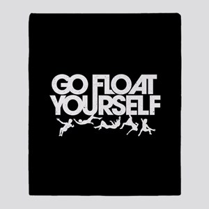 The 100 Go Float Yourself Throw Blanket