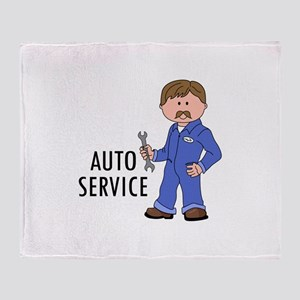 AUTO SERVICE Throw Blanket