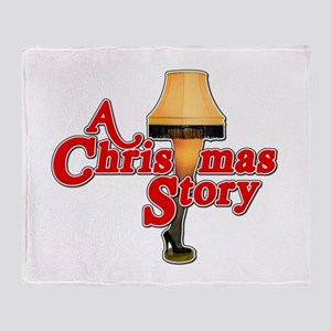 A Christmas Story Movie Lamp Throw Blanket