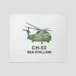 CH-53 SEA STALLION Throw Blanket