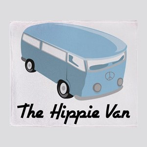 The Hippie Van Throw Blanket