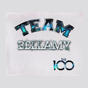 Team Bellamy The 100 Throw Blanket