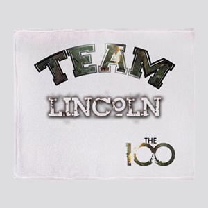 Team Lincoln A Grounder The 100 Throw Blanket