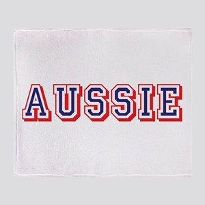Aussie Logo Throw Blanket