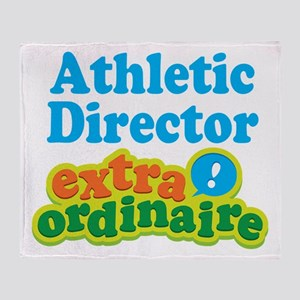 Athletic Director Extraordinaire Throw Blanket