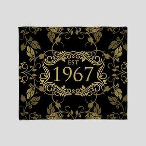 Established 1967 Throw Blanket