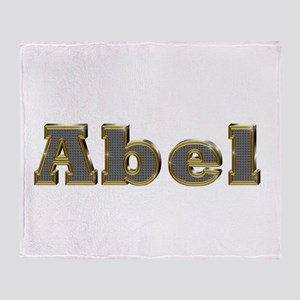 Abel Gold Diamond Bling Throw Blanket