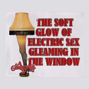 Electric Sex Throw Blanket