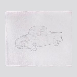 Ford Pickup 1940 Throw Blanket