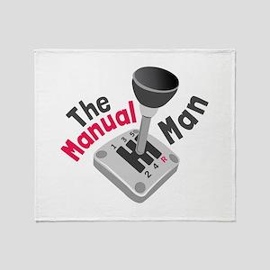 Manual Man Throw Blanket