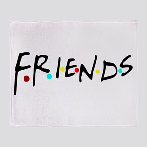 friendstv logo Throw Blanket