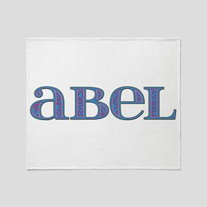 Abel Blue Glass Throw Blanket