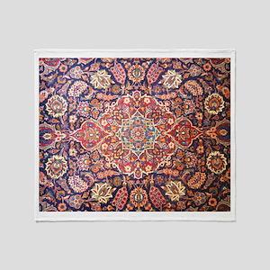 Persian carpet 1 Throw Blanket