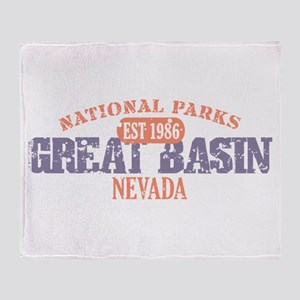 Great Basin National Park NV Throw Blanket