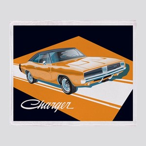 '69 Charger Throw Blanket