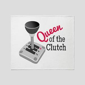 Queen Of Clutch Throw Blanket
