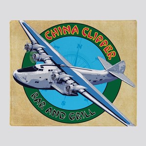 China Clipper Throw Blanket