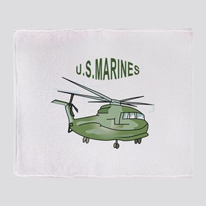 U.S. MARINES Throw Blanket