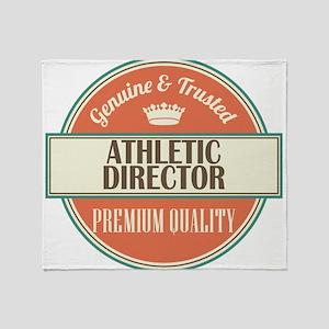 Athletic Director Throw Blanket