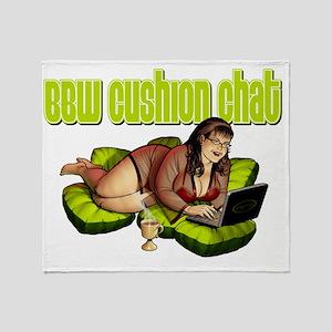 cushionchat Throw Blanket