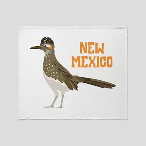 NEW MEXICO Roadrunner Throw Blanket